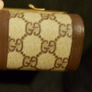 Gucci Bags - Vintage Gucci GG Canvas Coin Wallet $225